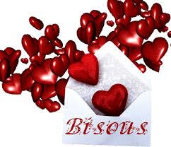 coeur bisous