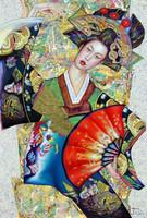 geisha-eventail-rouge