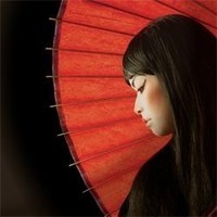 femme ombrelle