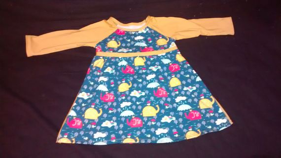 robe Frosty Dots Ottobre 92 devant