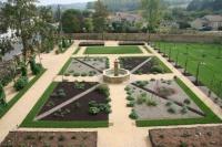 Les jardins du chateau de Gontaud lors des journées du patrimoine