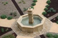 Fontaine en gros plan