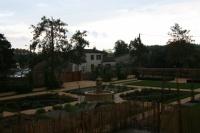 Depuis le jardin de la mairie