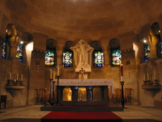 Chapelle de l'ossuaire de Douaumont
