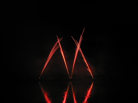 Fusées rouges