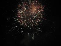 Bouquet final du feu d'artifice d'Ermenonville