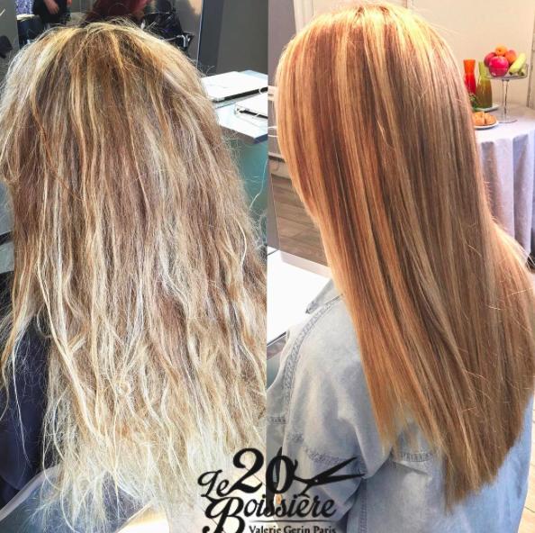 cheveux abimés après décoloration que faire