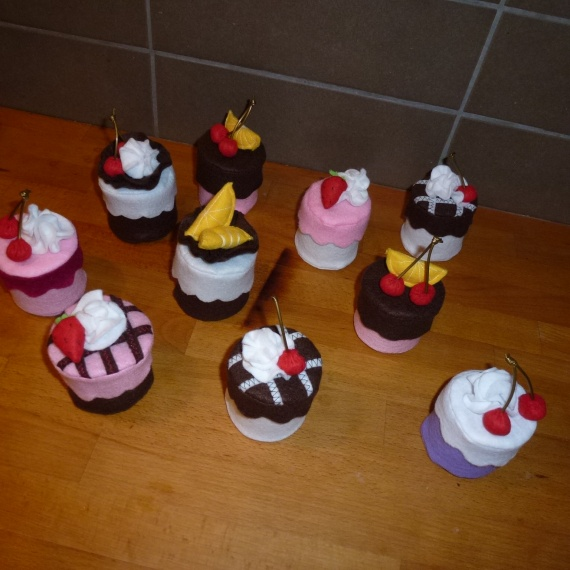 boites a dragées façon cupcake