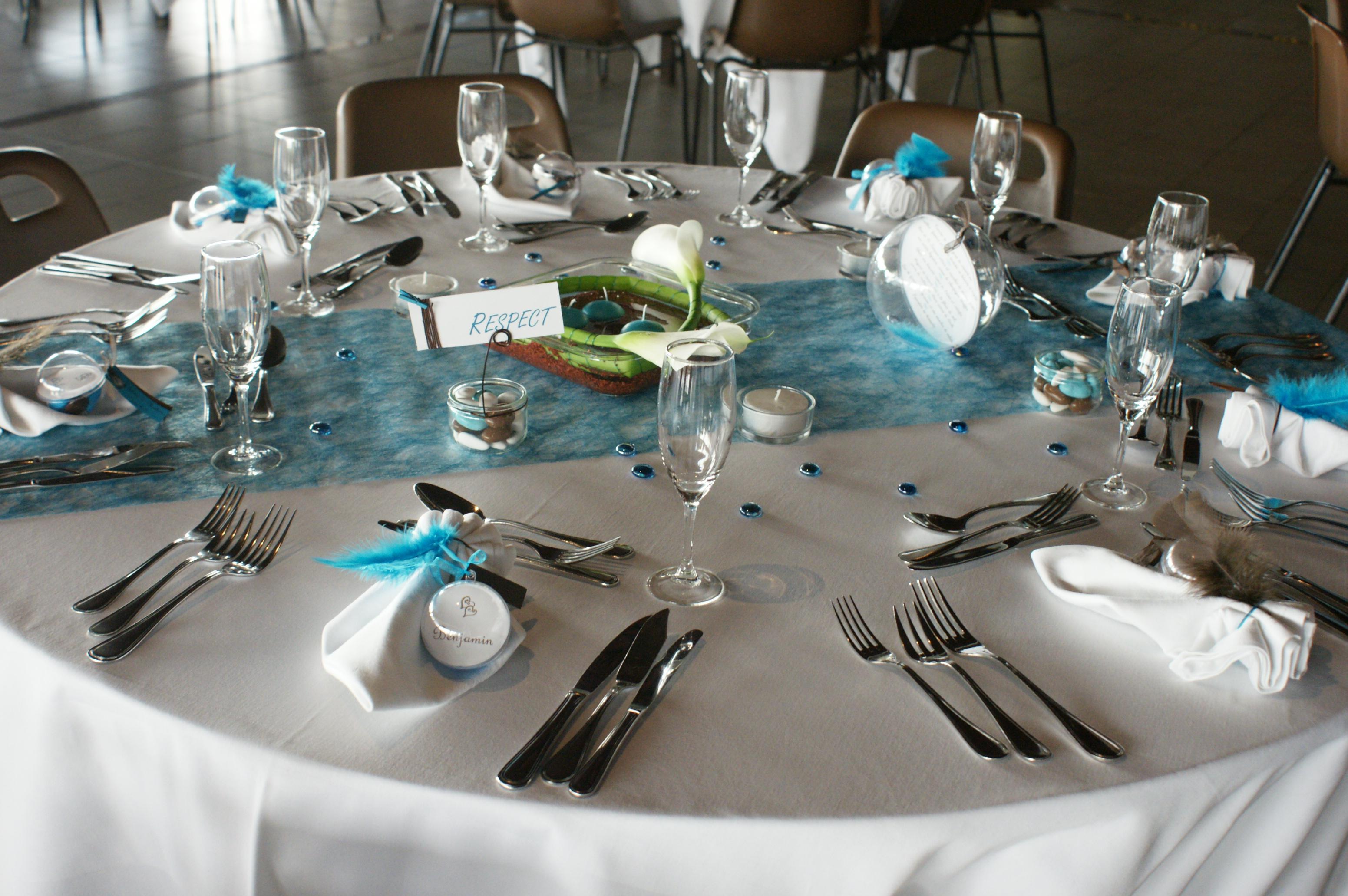 Déco Turquoise Et Chocolat Pour Mariage : Deco mariage chocolat turquoise idées et d inspiration
