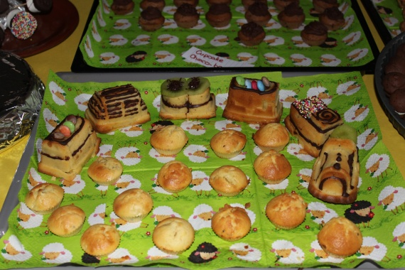 Petit train (cake kiwi)