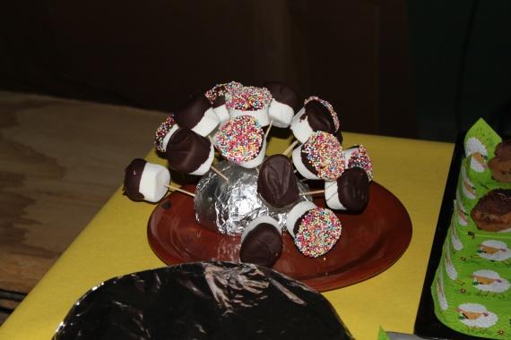 hérisson de marshmallows