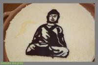 Bouddha chocolat