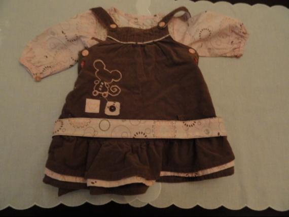 robe + ceinture + chemise petit kinbaloo 7 euro
