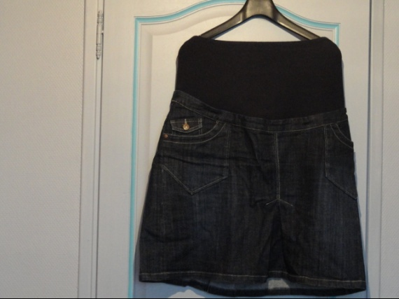 jupe de grossesse jeans 7 euro