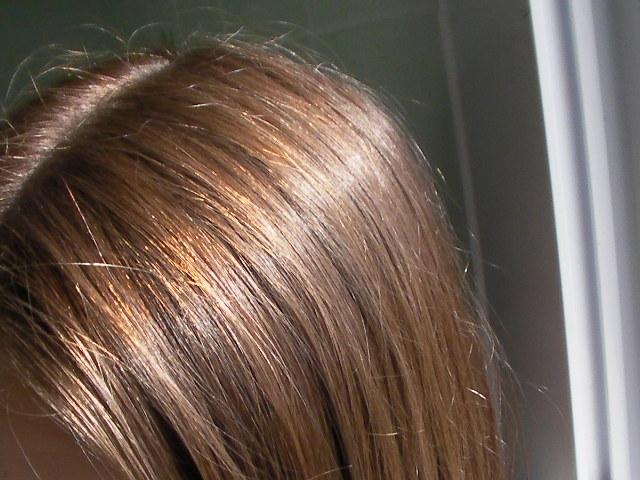 cheveux roux apres coloration