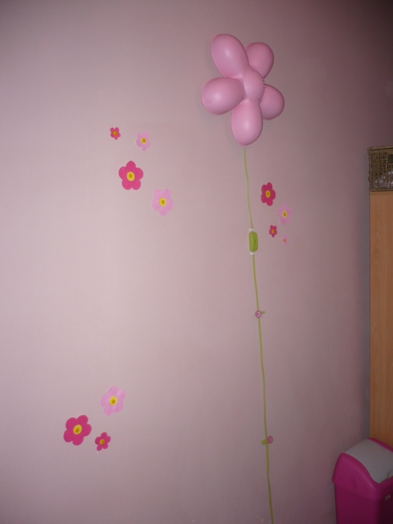 applique fleur ikea