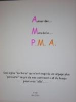 Autour des Mots de la PMA 001