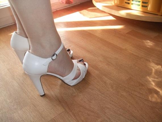 mes chaussures vue de coté