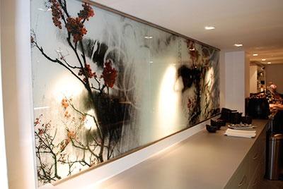 Peintre decorateur aisne st renaissance decor deco interieure decors peints peintures for Peinture murale argentee