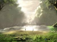 paysage-forestier-nature-flore-art-digital