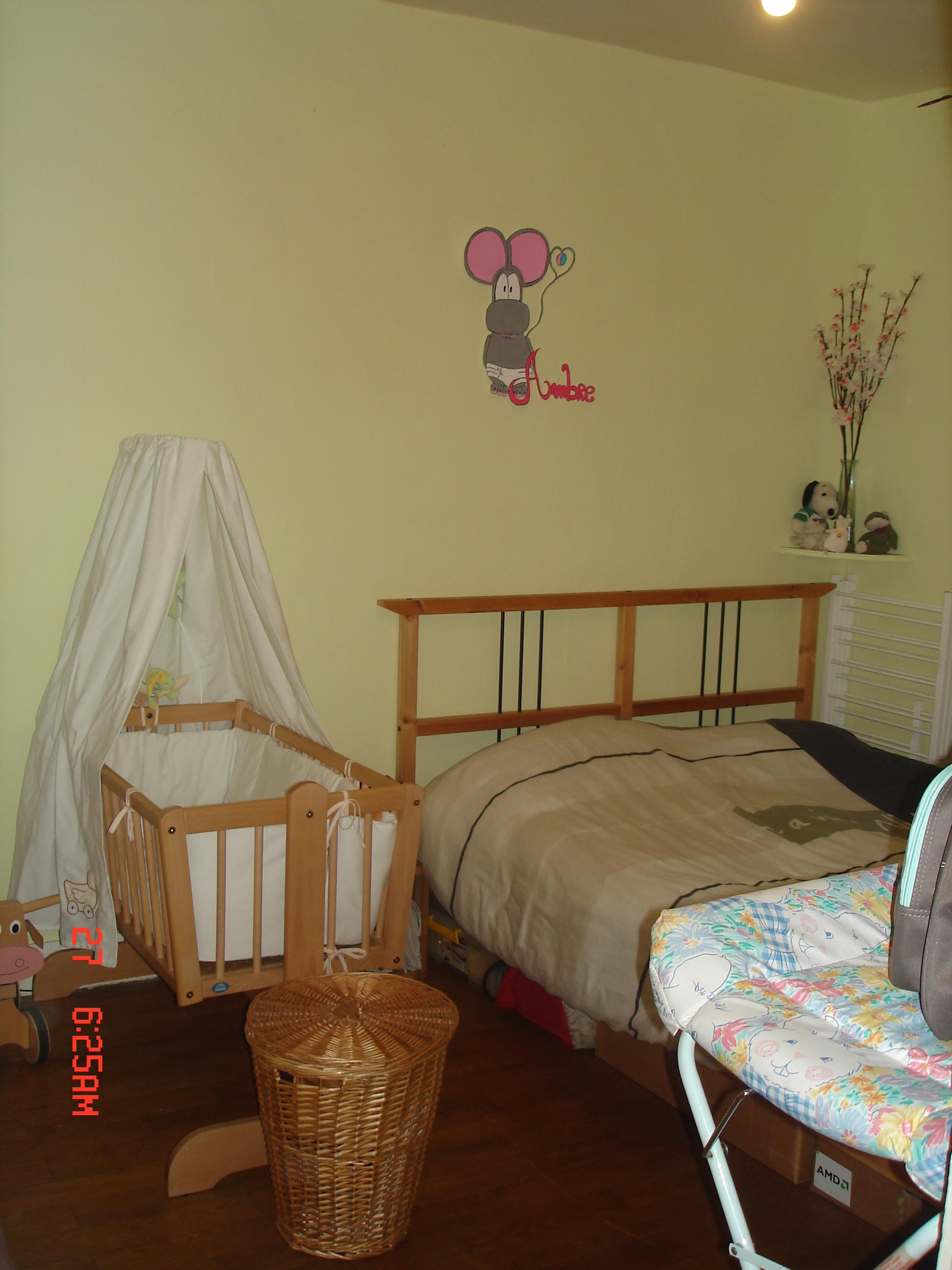 lit de bébé et lit des parent! - chambre d\'Ambre - comikkk - Photos ...