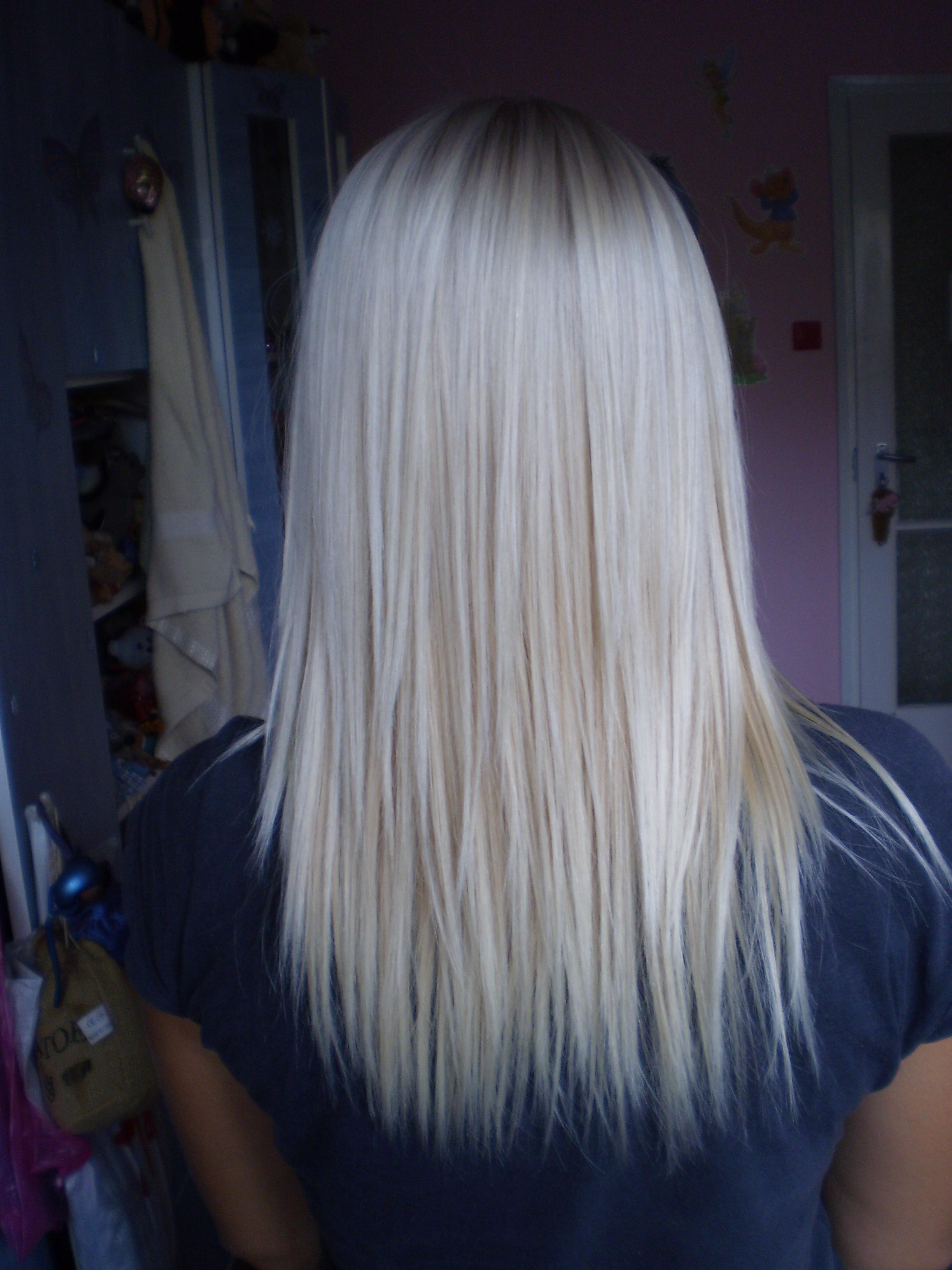 limage en grand - Coloration Blond Perle