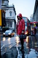 London+Fashion+Week+Street+Style+Raincoat