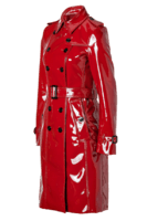 Burberry-London-lacquer-red-Queenscourt-Trench-Coat-side-view