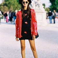 1f32mi-l-c680x680-round sunglasses-shorts-sweater-jacket-dress-coat-lips-blogger-vanessa jackman-sho