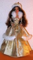 1995 Winter Fantasy Barbie version Brunette - Sam's Club