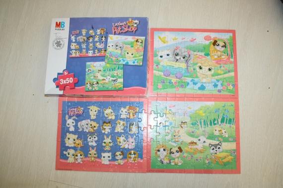 puzzle petshop 5 euros