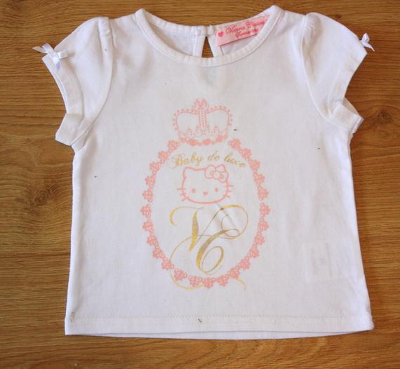 victoria couture hello kitty 6 mois  10 euros