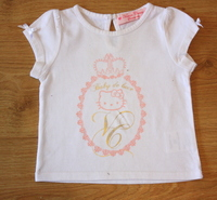 victoria couture hello kitty 6 mois  10 euros