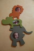 Cadre avec mes 3 bébés d'amour