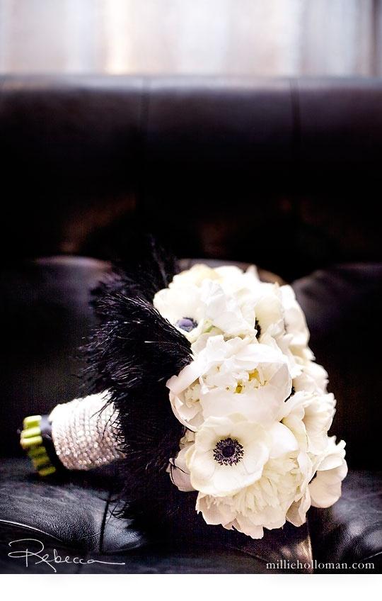 03 decoration mariage tons noir et blanc theme baroque. Black Bedroom Furniture Sets. Home Design Ideas