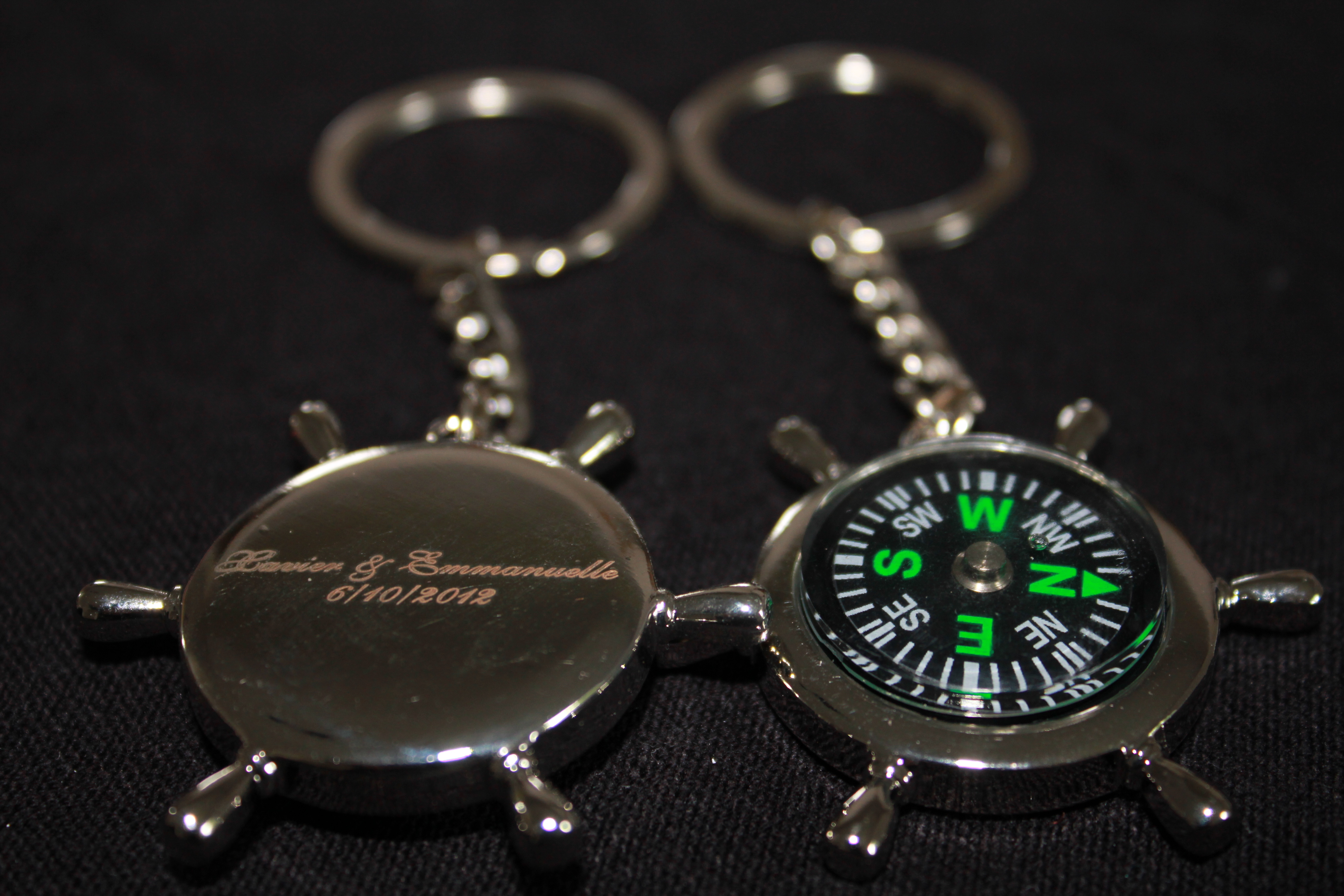 0f62cd00e4e2 porte clés boussole pour les hommes - bouquet de mariage et déco ...