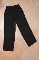 8 ans pantalon toile noir 4e