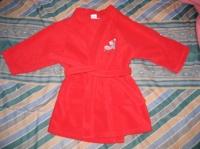robe de chambre polaire 2 ans