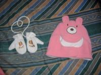 gant bébé et chapeau polaire
