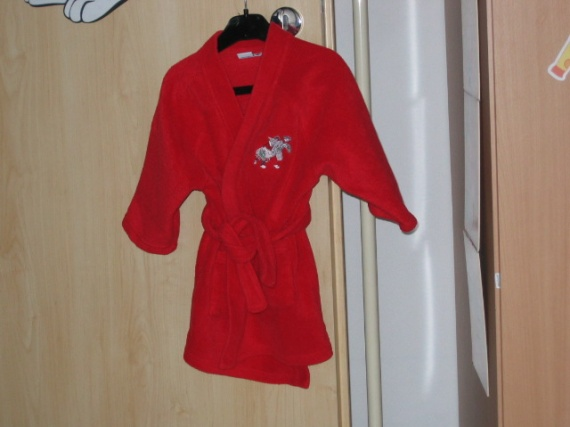 robe de chambre 2 ans