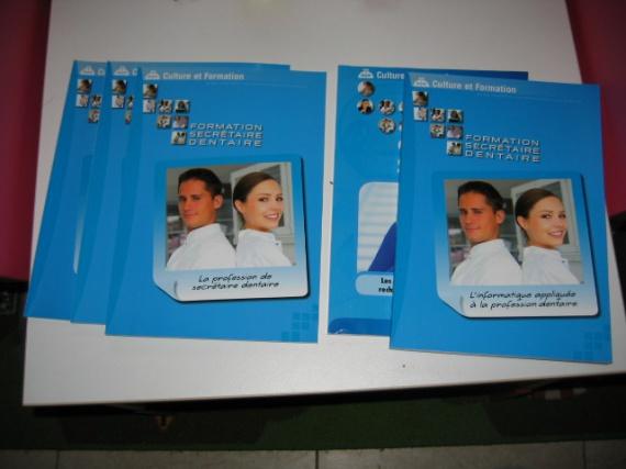 livre formation secretaire dentaire