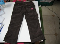 dos pantalon marron