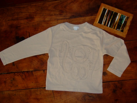 LP60-3 ans T-shirt ML Obaibi (3.5€)