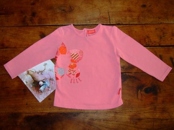 CW10- 2 ans T-shirt ML Elle TBE (7€) Lucas-Romane67