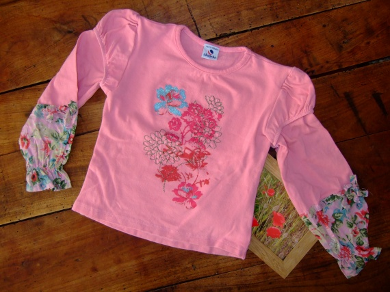 C4- 4 ans T-shirt ML Absorba TTBE 3,5€