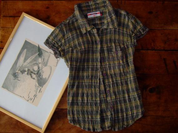 CC216- femme Taille S chemise MC lee cooper- TTBE (7€)