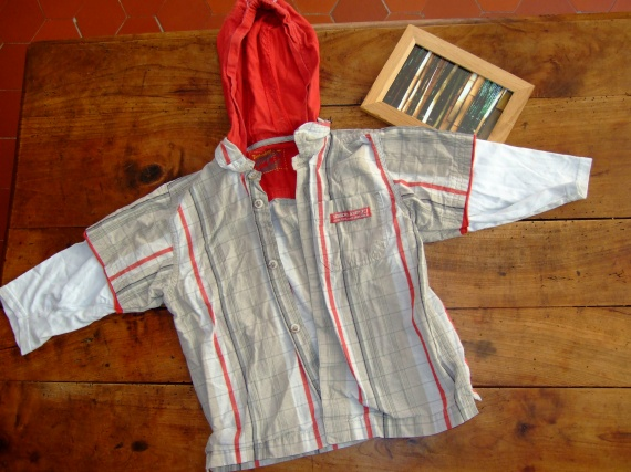 SC29- 2ans 92cm chemise ML timberlannd (3.5€) RESERVE