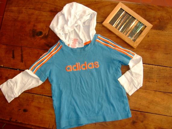 SC31- 2ans 92cm t-shirt ML adidas (3.5€) RESERVE Séverine