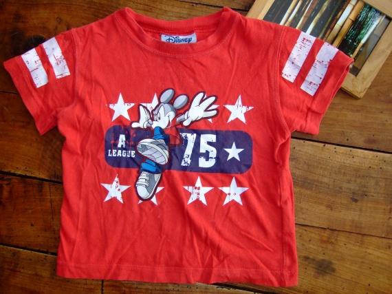 SC51- 2ans t-shirt MC disney (3€)