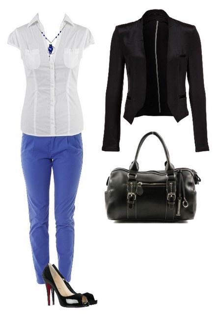 Que porter avec un pantalon forme carotte bleu v tements - Que porter avec un pantalon bleu marine ...